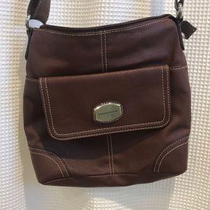 Franco Sarto Brown Leather Bag